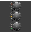 Grey switches vector image