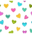 Cute seamless pattern with decorative colorful vector image
