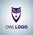 OWL LOGO 6 vector image