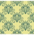 Paisley dense flower buds seamless pattern vector image