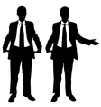 broke businessmen vector image