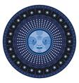 Nocturne Mandala vector image