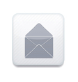 white mail icon Eps10 Easy to edit vector image vector image