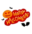 Happy Halloween vector image vector image