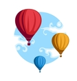 Hot Air Baloons vector image