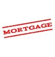 Mortgage Watermark Stamp vector image