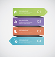 Abstract infographics vector image vector image