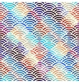 Abstract arc pattern vector image
