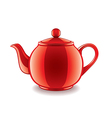 classic kettle isolated vector image