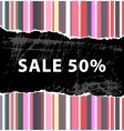 color sale vector image vector image