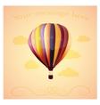 balloon backround vector image