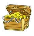Cartoon Pirate Treasure vector image