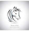 sign Horse logo vector image vector image