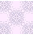 Seamless lace background vector image