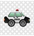 police service design vector image vector image