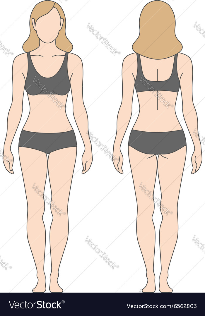 Figure woman vector