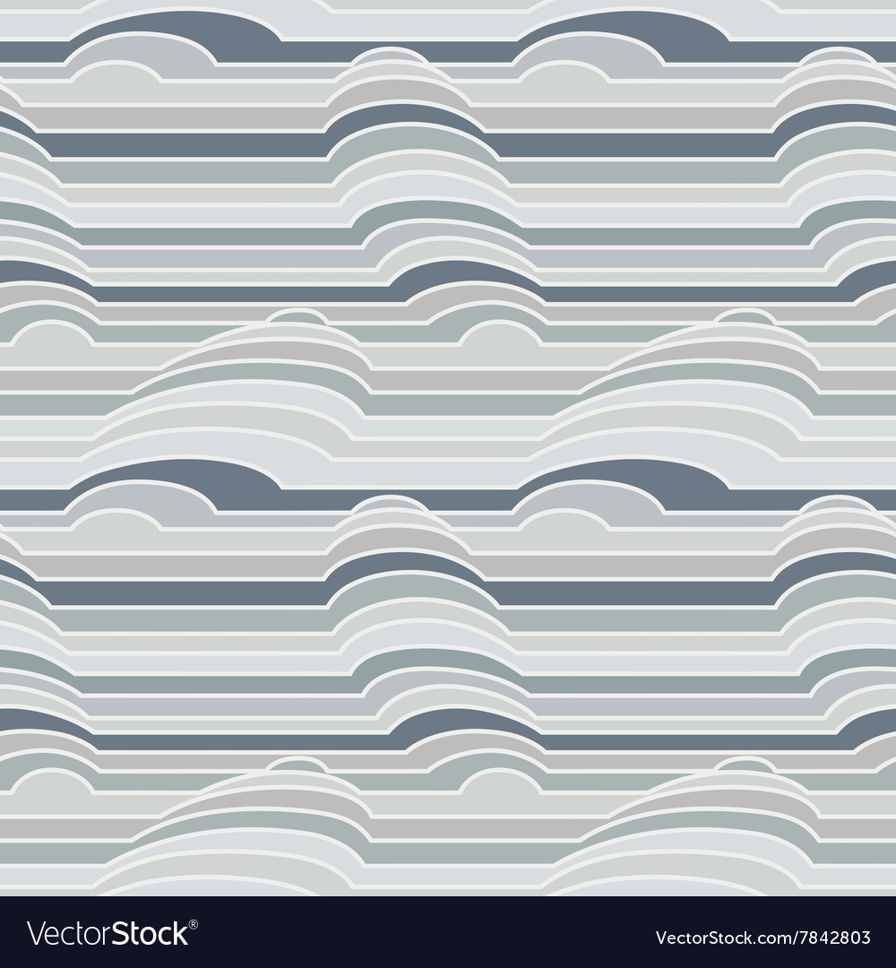 Seamless pattern of colorful stripes vector