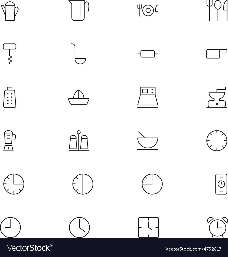 User interface icons 9 vector