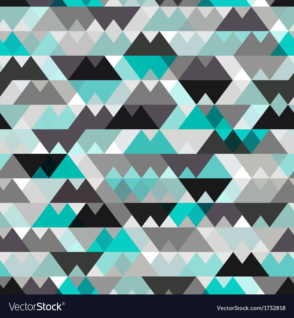 Seamless geometric texture background vector