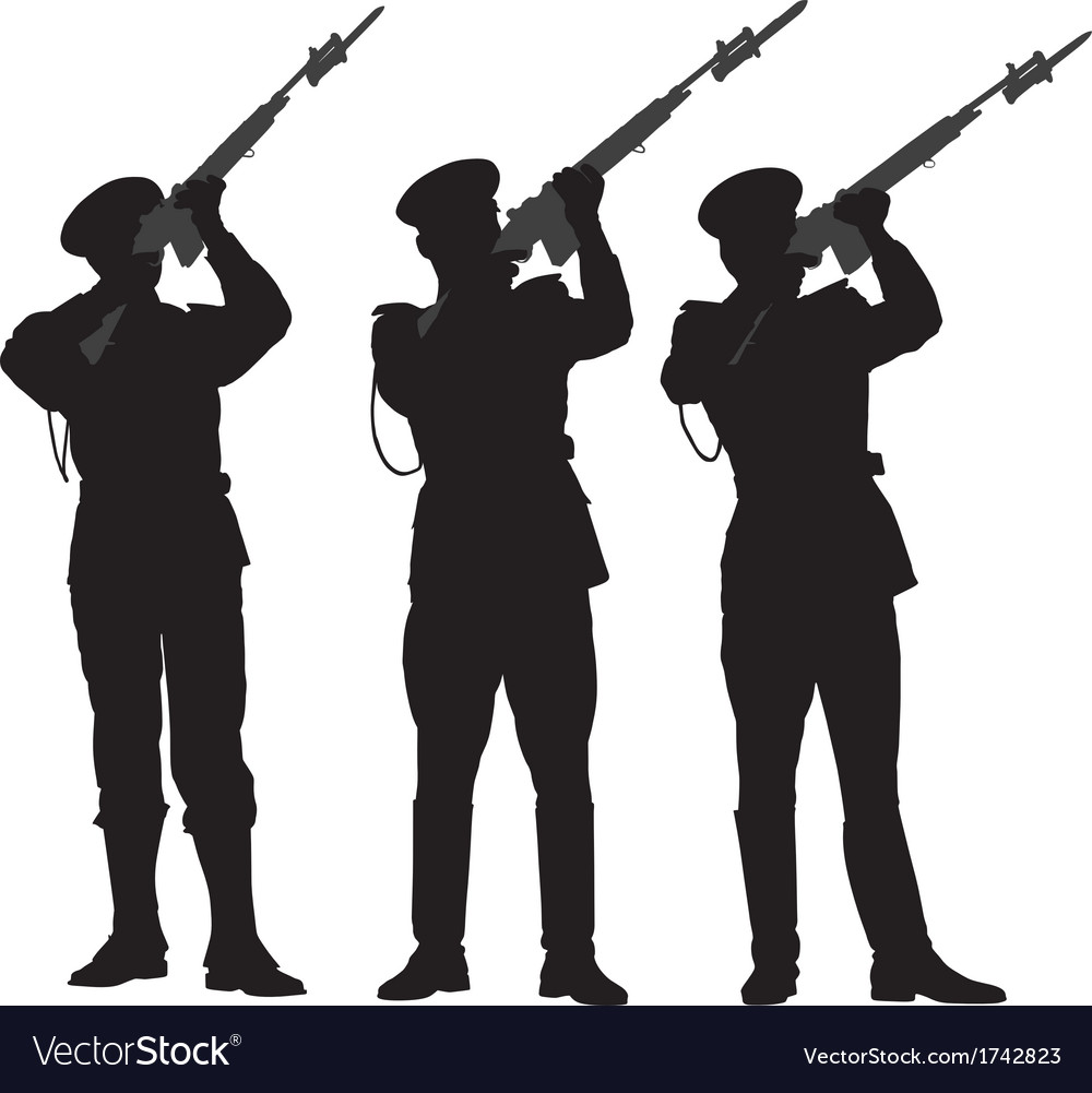 Guard of honor 2 vector