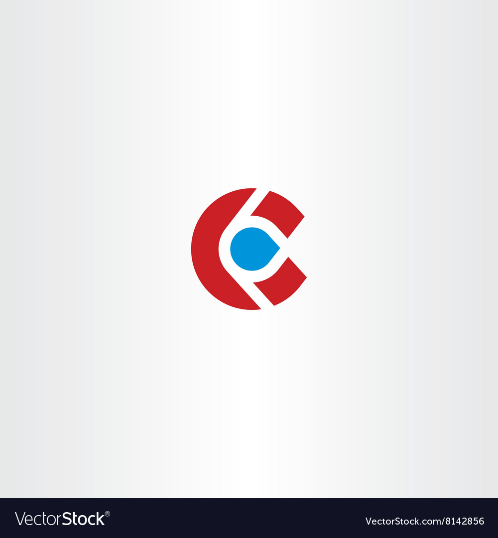 Letter c logotype c logo sign icon element design vector