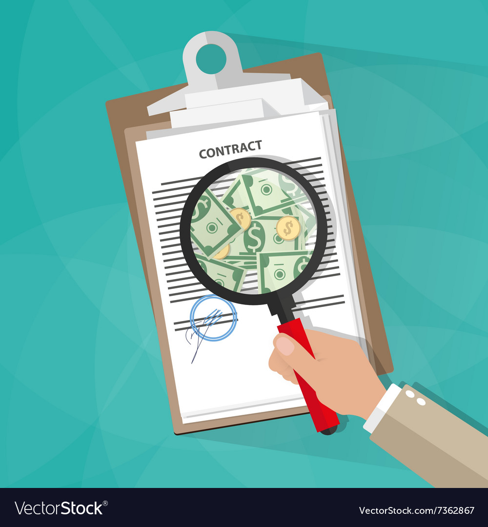 Hand checking contract vector