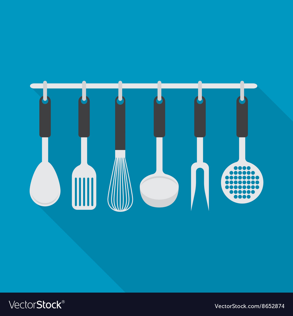 Kitchenware utensil cooking tool vector