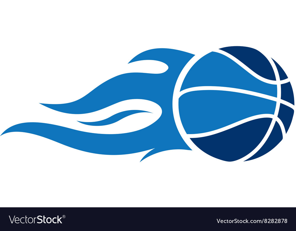 Basketballfire380x400 vector