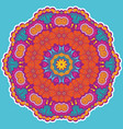 round colorful mandala vector image