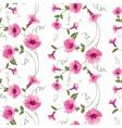 Design of vintage floral card vector image vector image
