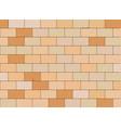 stone block wall - vector image