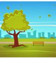 Summer Park vector image