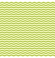 Tile spring pattern with white and green zig zag vector image