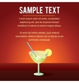 Cocktail Margarita vector image vector image