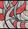 abstract doodle background vector image