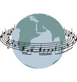 World song vector image vector image
