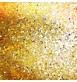 gold glittering vector image vector image