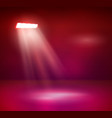 lights and shining for your design color vector image vector image