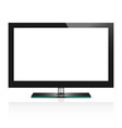 TV flat screen lcd vector image vector image