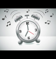 ringing alarm clock vector image vector image