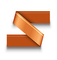 Orange infographics design isolated on white vector image