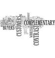 Wholesale buyers versus retail customers text vector image