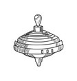 sketch of a whirligig vector image vector image