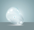 Idea Bulbs Glass Chat Bubbles vector image