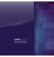 Purple glossy blank with a background texture vector image