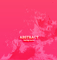 Bright Pink Abstract Background vector image vector image