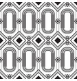 abstract geometric seamless monochrome vector image