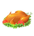 colorful llustration of turkey vector image