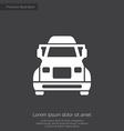 truck premium icon vector image