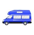 car camper vector image